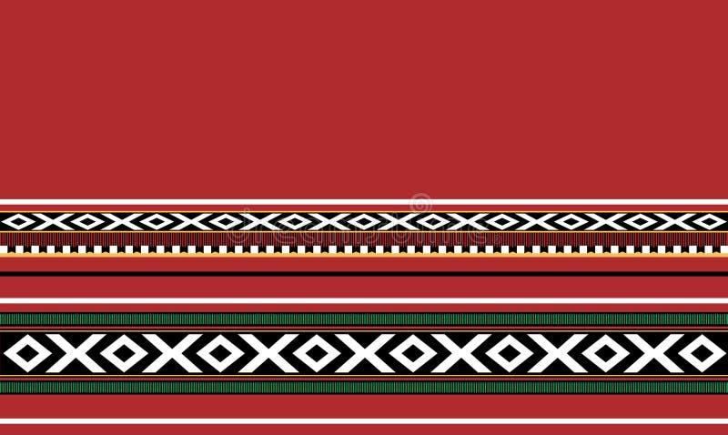 Традиционный Handmade половик Sadu иллюстрация штока