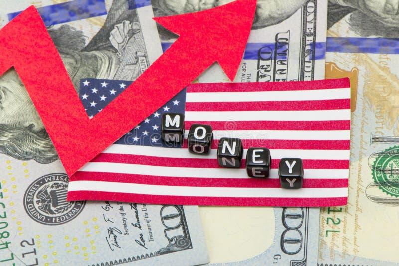 Требование для доллара стоковая фотография rf