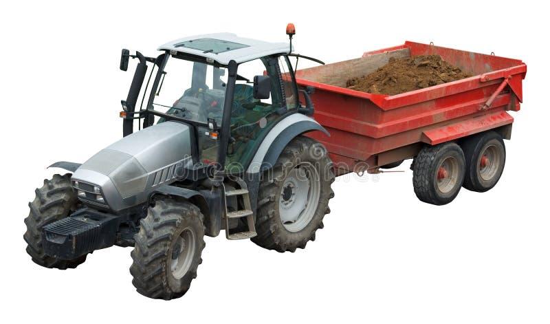 трейлер трактора стоковые изображения