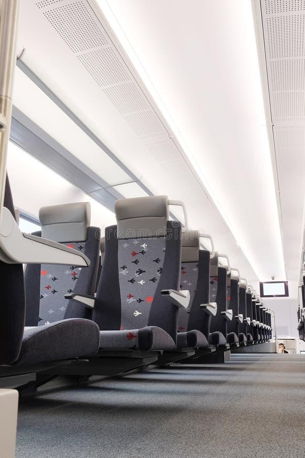 тренер пассажира поезда стоковая фотография rf
