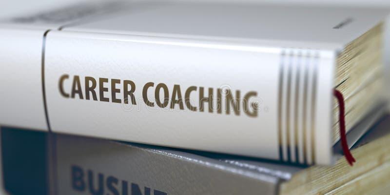Тренировать карьеры Название книги на позвоночнике 3d стоковое фото rf