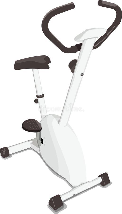 тренировка велосипеда иллюстрация вектора