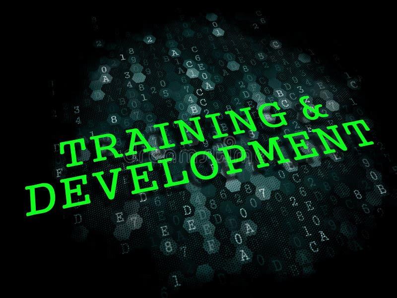 Тренировка и развитие. Воспитательная концепция. бесплатная иллюстрация