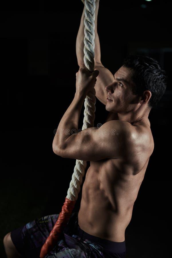 Тренировка CrossFit стоковое фото rf