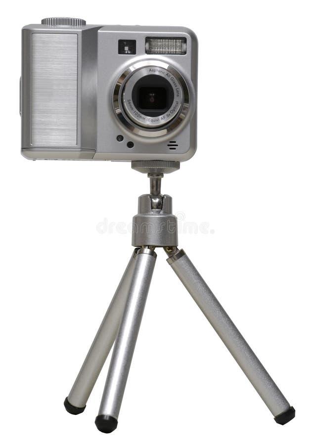 тренога камеры цифровая изолированная стоковая фотография