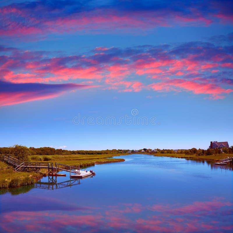 Треска накидки Bumps река Массачусетс стоковое фото