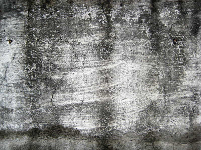 Треснутая белизна покрасила стену подверганный действию к под открытым небом текстуре форм стоковое фото rf