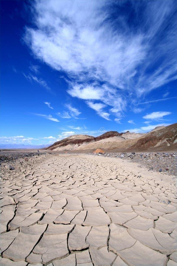 треснутая грязь стоковая фотография rf
