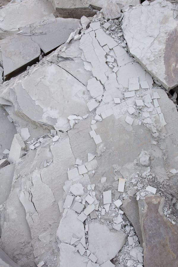 Треснутая и сломанная серая текстурированная предпосылка разрушенного шифера стоковая фотография