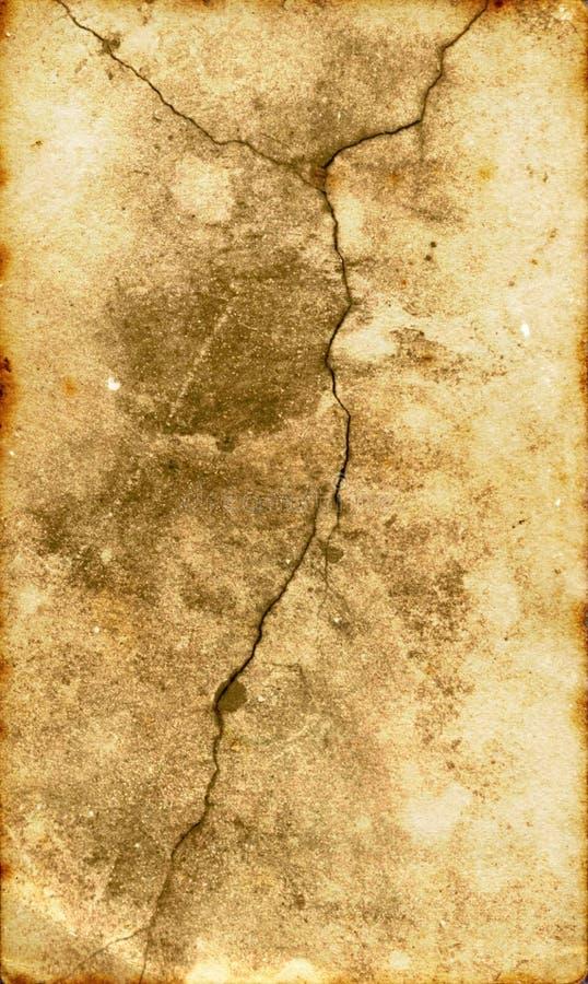 треснутая поверхность Ii Стоковая Фотография