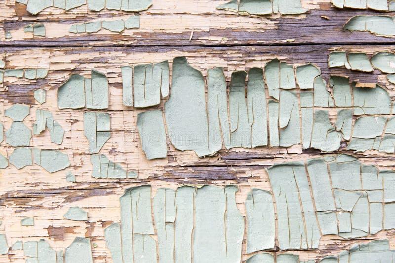 треснутая старая текстура краски стоковая фотография