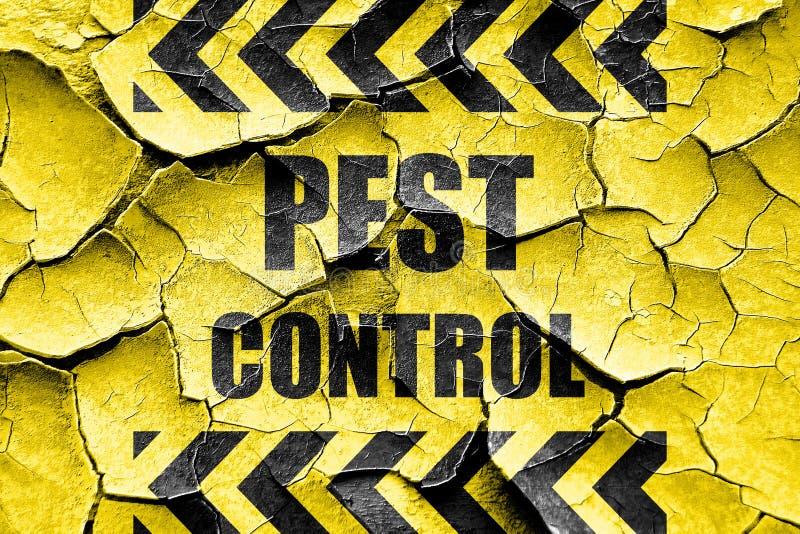 Треснутая Grunge предпосылка службы борьбы с грызунами и паразитами стоковое изображение rf