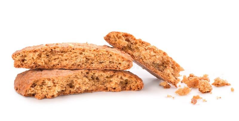 Треснутые печенья стоковая фотография rf
