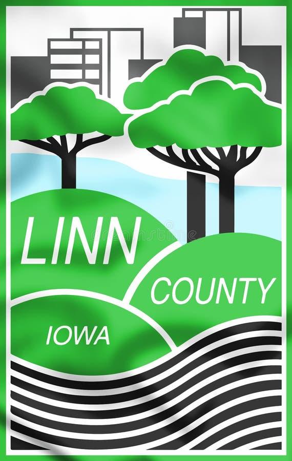 Трехмерное печатание округа Линн Айова, США бесплатная иллюстрация