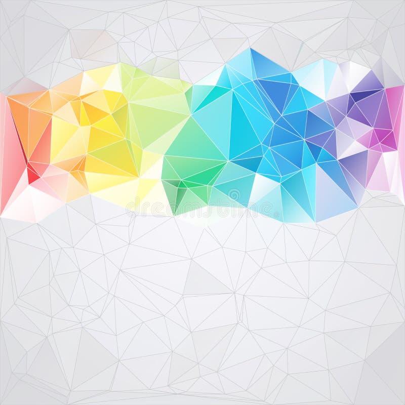 Триангулярная предпосылка конспекта типа треугольников бесплатная иллюстрация