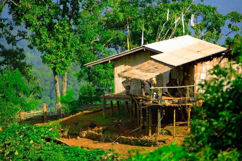 триба дома холма стоковое изображение