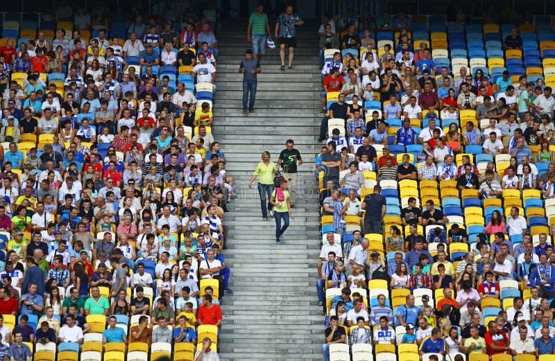 Трибуны NSC Olympic Stadium стоковые фото