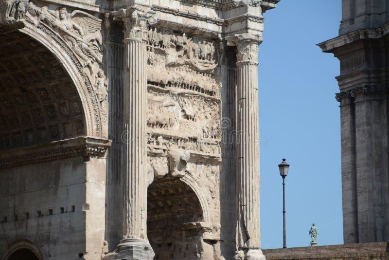 триумф rome свода стоковые фото