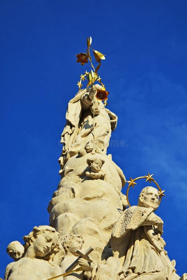 Троица памятника святая стоковое фото