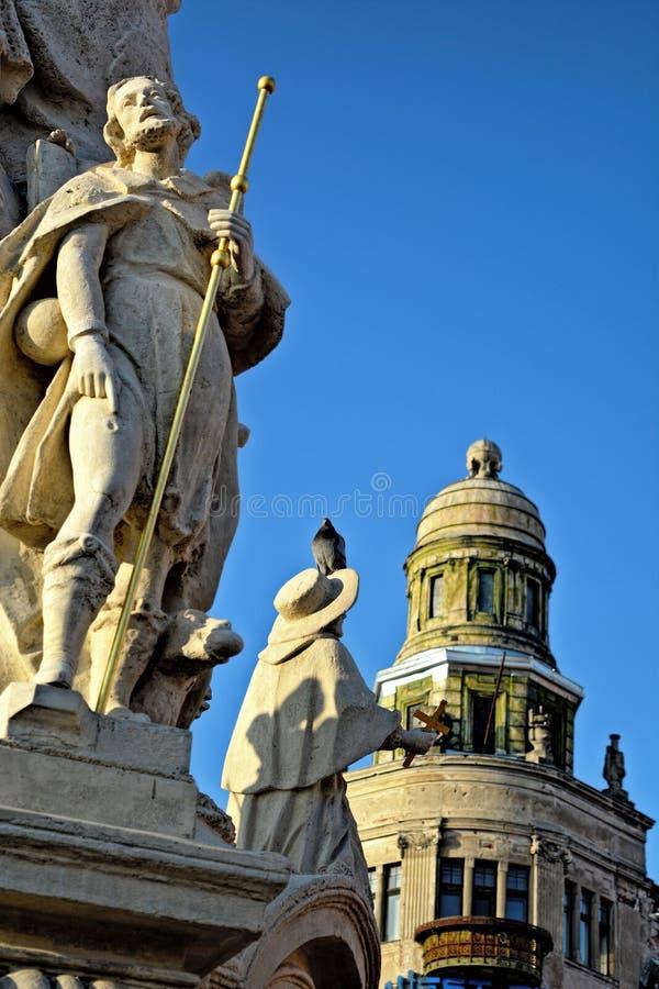 Троица памятника святая стоковое фото rf