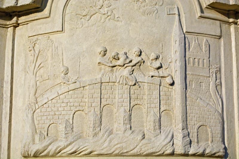Троица памятника святая стоковая фотография rf