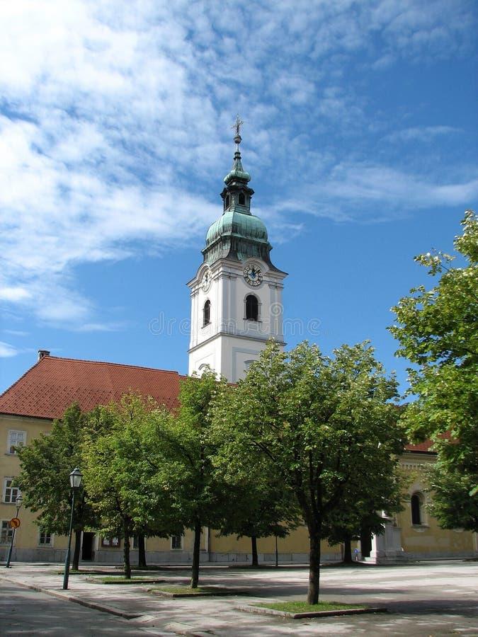 троица karlovac Хорватии церков стоковое фото
