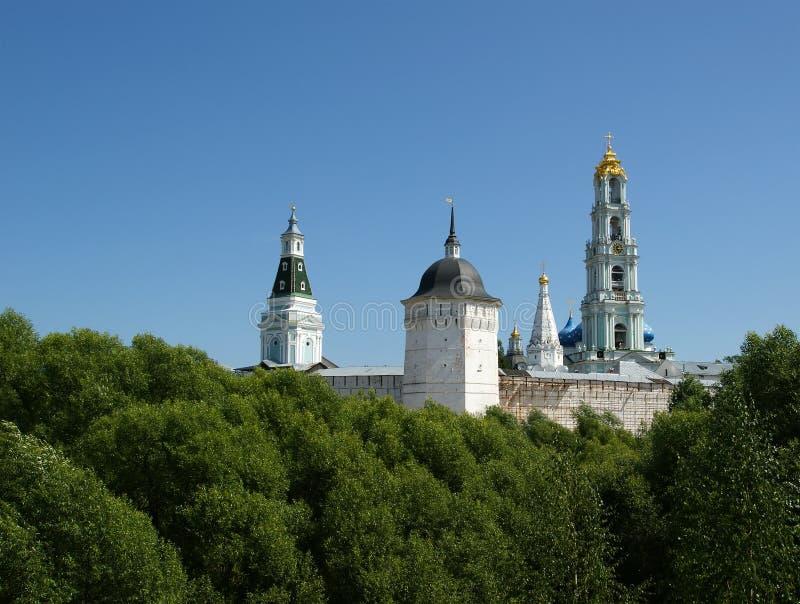 Троица Sergius Lavra в Sergiev Posad. Российская Федерация стоковые фото