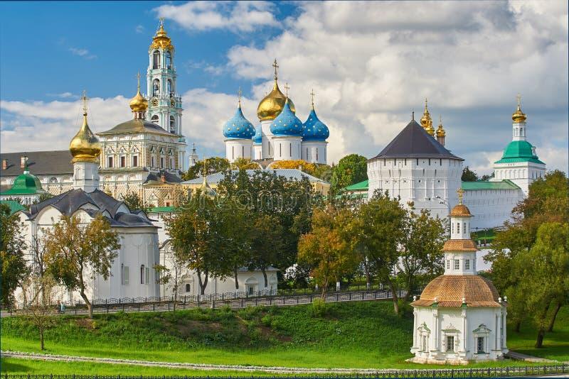 троица st sergius sergiev России posad скита стоковое фото rf
