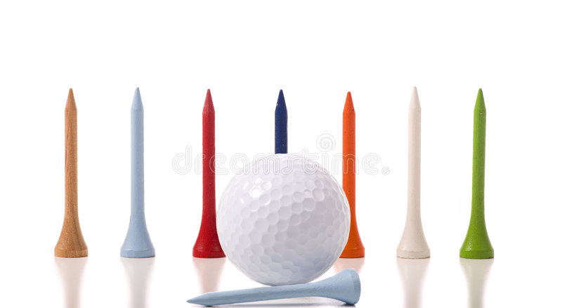 тройники гольфа стоковые изображения
