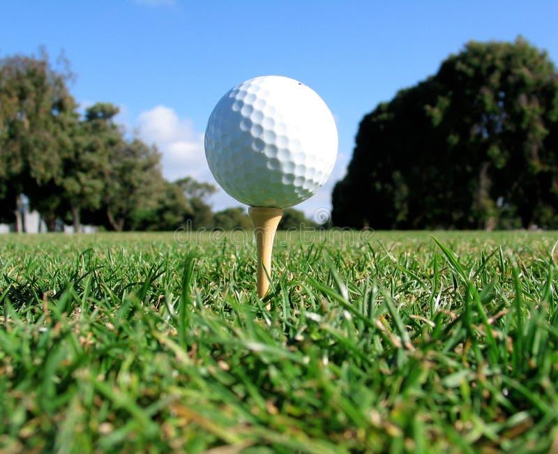 тройник съемки гольфа стоковое фото rf