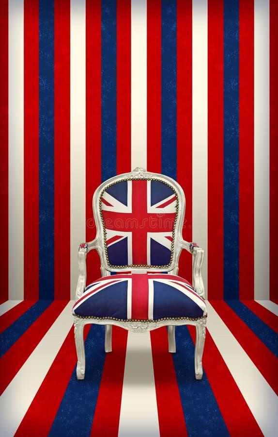 Трон Великобритании стоковые фото