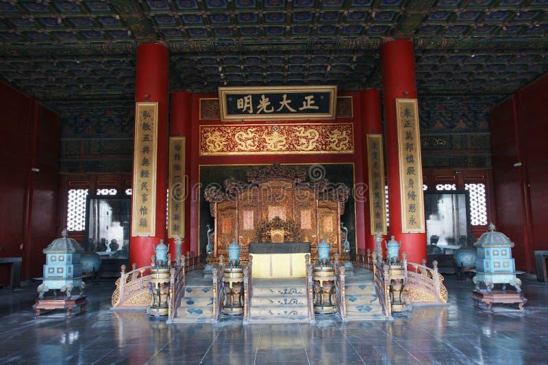 трон императора s стоковое фото rf