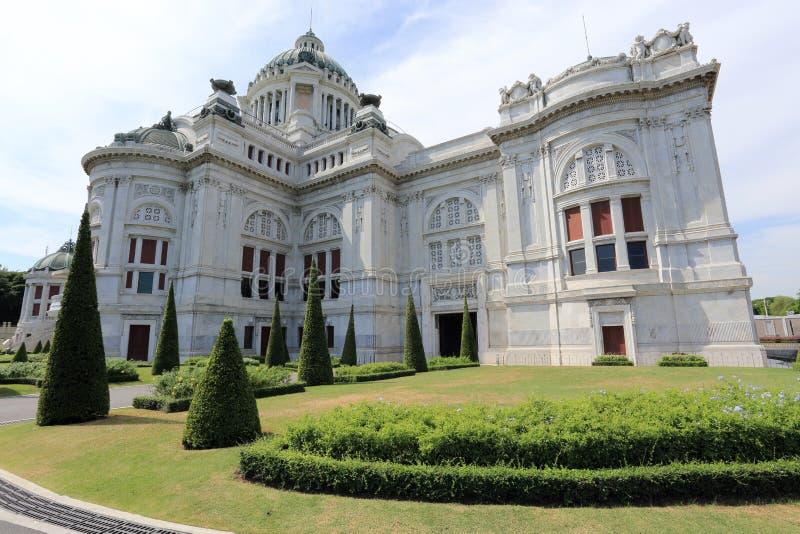 Трон Hall Ananta Samakhom стоковые фотографии rf