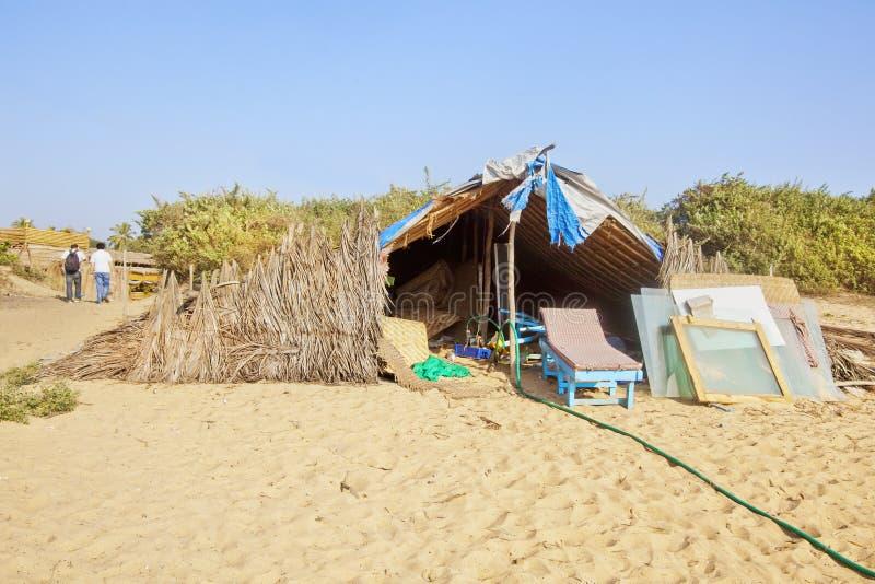 Тропическая мастерская стороны пляжа климата стоковые изображения rf
