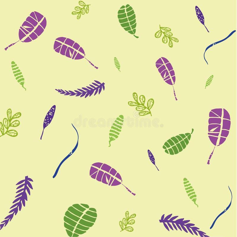 Тропические листья 3 стоковая фотография