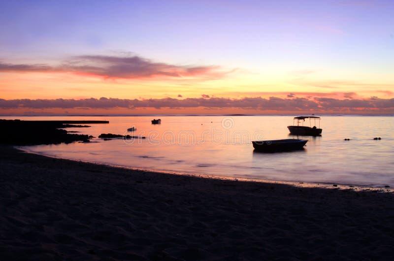 Тропический восход солнца стоковые фотографии rf