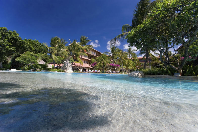 Тропический курорт стоковое фото