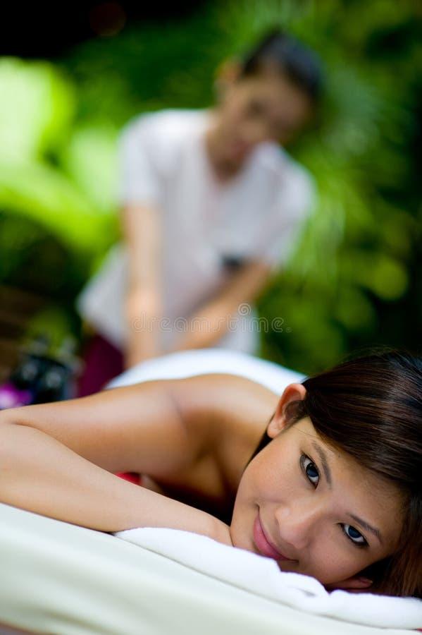 Тропический массаж стоковые изображения