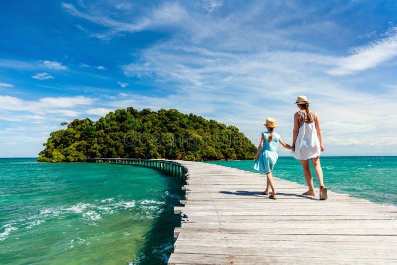 Тропический остров в Камбодже стоковая фотография