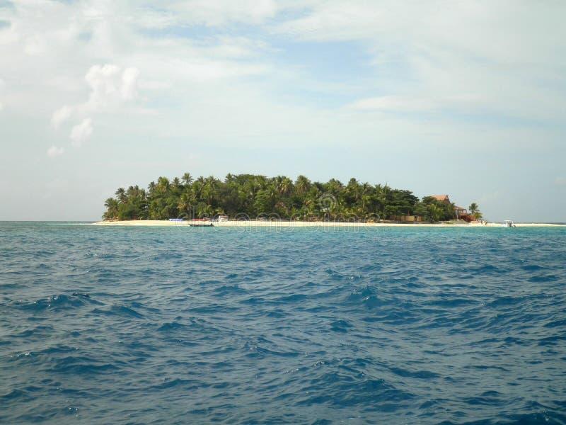 Тропический остров в Фиджи стоковые изображения