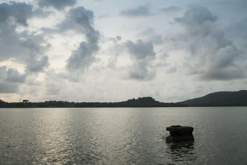 Тропический остров Sao Tome стоковое фото