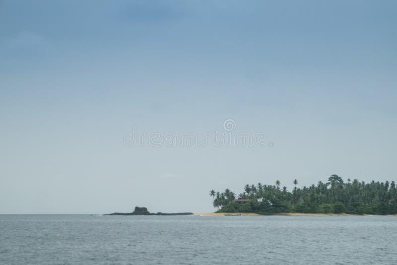 Тропический остров Sao Tome стоковые изображения rf