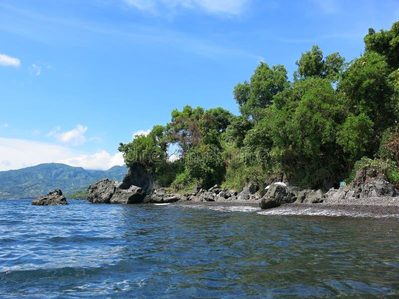 Тропический рай на острове Бали в Индонезии стоковая фотография rf