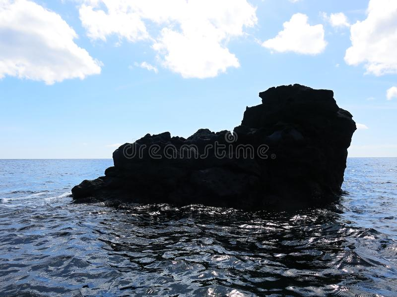 Тропический рай на острове Бали в Индонезии стоковое фото