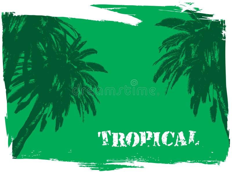 тропическо иллюстрация штока