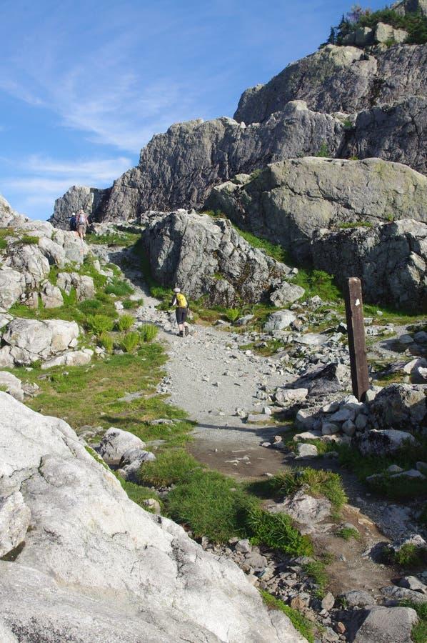 Тропка Баден-Пауэлл, стоковое фото