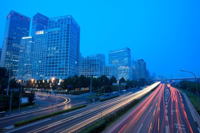 тропки города светлые самомоднейшие стоковая фотография rf