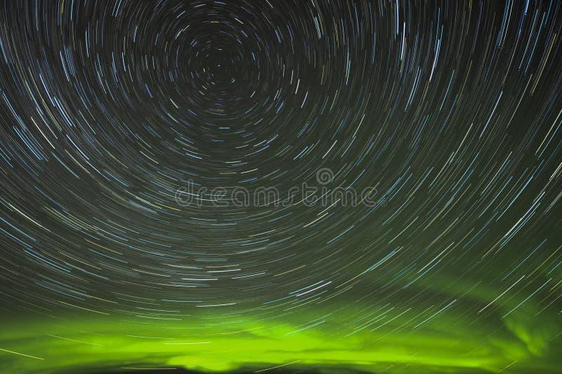 тропки звезды рассвета стоковое изображение rf