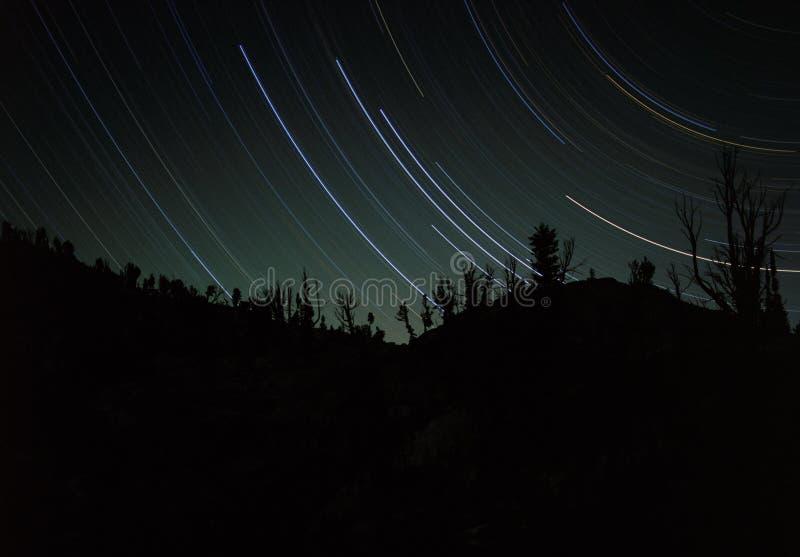 тропки звезды стоковое изображение