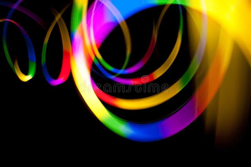 тропки света нерезкости abtract иллюстрация штока